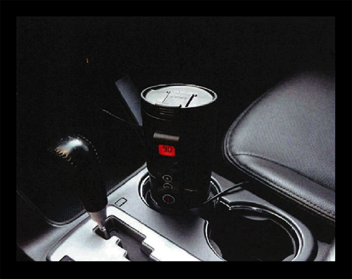 自動車用湯沸かしボトル