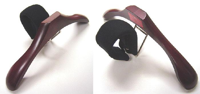デスクチェアハンガー/オフィスハンガー/車のヘッドレストハンガー/ブラウン/マホガニー製/ヨーロッパ・スロベニア製