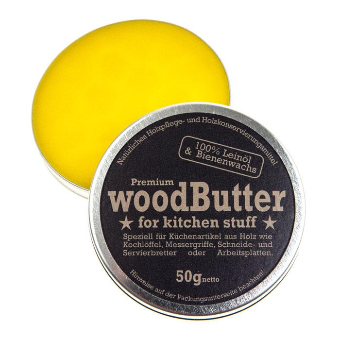インゴロンプ ウッドバター オリーブの木のカッティングボードのメンテナンスに最適 天然ビーズワックス