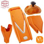 ドイツ製 V5 Vスライサーセット Vパワー オレンジ