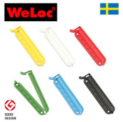 ウェーロック クリップイットPA70mm 6個セット スウェーデン製 CLIP-it (クロージャー、キッチンクリップ、袋止め)